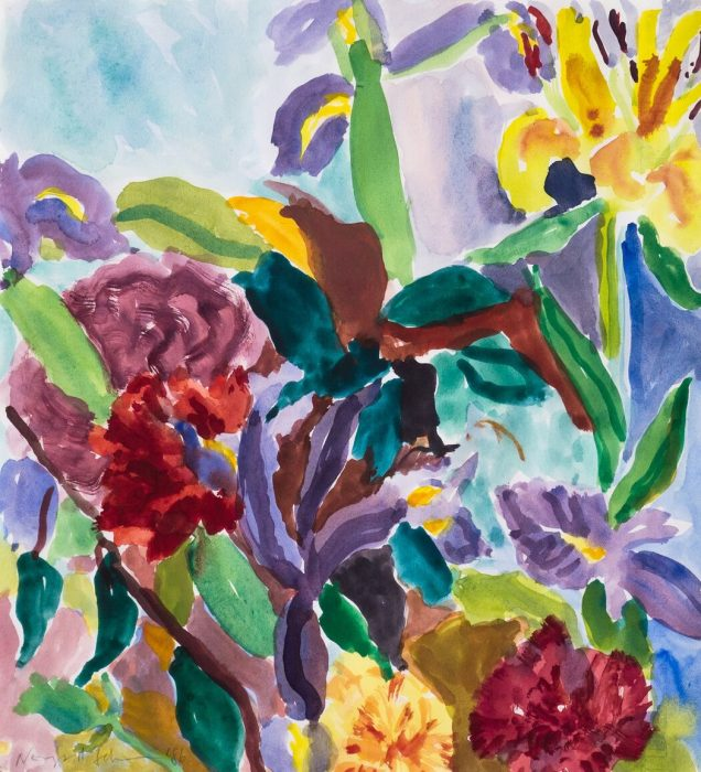 Lilies, Irises and Carnations