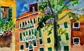 Venitian Tree and Facades