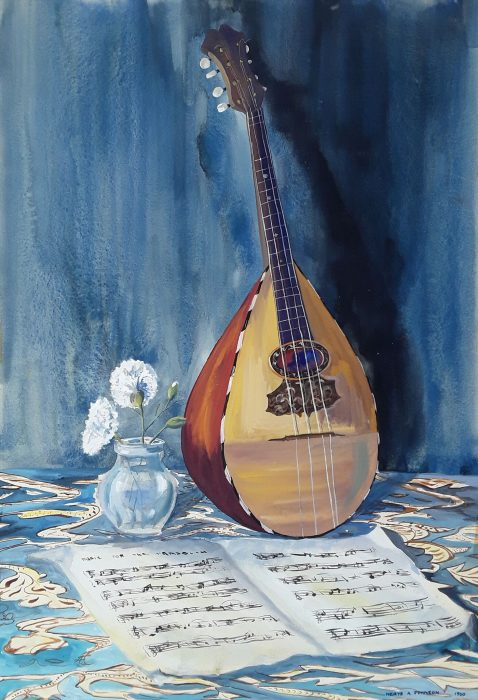 Still Life with Mandolin